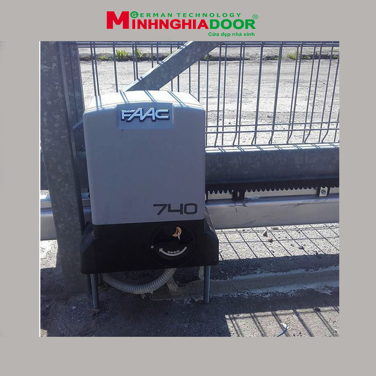 Motor faac 740 - motor cổng lùa faac italya Motor-cong-lua-faac-740