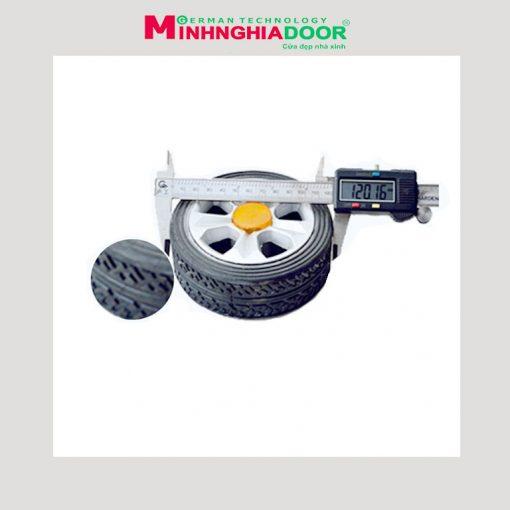 bánh xe cổng xếp điện minhnghiadoor